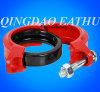 Encaixes de tubulação Grooved do ferro Ductile de FM/UL