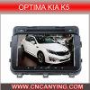 Reproductor de DVD especial del coche para los grados óptimos KIA K5 con el GPS, Bluetooth. con el Internet dual de WiFi 3G del disco de la base 1080P V-20 del chipset A8. (CY-C345)