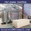 Prensa caliente para la madera contrachapada