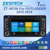 Navegação do carro DVD GPS de Zestech para o Outlander 2013 de Mitsubishi 2014