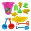 Wannen-Wannen-Strand-Spielzeug Sommer-Bauernhof-preiswerte Eimer-der Plastikform-Kinder