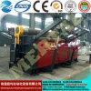 Máquina de dobra hidráulica da placa de quatro rolos do CNC da alta qualidade Mclw12scx