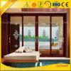 Cor de madeira frame de alumínio de Windows e de portas para o quarto/banheiro do Wardrobe/