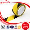 Cinta amonestadora perceptible subterráneo negra y amarilla de Jinghua del PVC