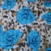 服およびズボンのための美しい花のレーヨンファブリック