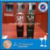 Bottiglia piana vuota 700ml del liquore personalizzata vendita calda