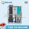 2 toneladas de máquina de hielo de tubo sanitario y transparente