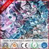 Leer van pvc van het Af:drukken van pvc van het Kunstleder het Digitale voor het Synthetische Leer van de Mat Zakken/Talbe