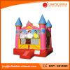 Castelo inflável da princesa Moonwalk Salto Casa Jumping para a venda (T2-102)