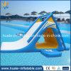 Смешная раздувная игрушка воды, раздувной плавая парк воды, раздувная кровать шлямбура спорта воды