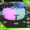 재충전용 분명히된 LED 플라스틱 바 카운터를 바꾸는 현대 색깔