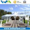 12X32m die multi Seiten verzierten Zelt mit hohe Spitzen-Dach für Luxuxhochzeit
