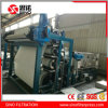 Cambouis asséchant le filtre-presse matériel de courroie d'acier inoxydable