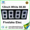 étalage de signe de commutateur de prix du gaz de 12inch DEL (NL-TT30F-3R-DM-4D-White)