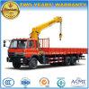 6X4 210HP 10 tonnes de camion lourd de cargaison a monté avec la grue
