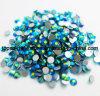 비 최신 고침 못 예술 결혼 예복 (FB 파란 지르콘 AB/3A)를 위한 수정같은 파란 지르콘 Ab 모조 다이아몬드 Ss4 Ss6 Ss8 Ss30 Strass