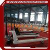 carro de paleta hidráulico de la mano de 3000kgs/6600lb Ningbo China con la rueda de Nylonr