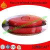Non-Stick Kleur Geschilderde Ovale Grill van het Koolstofstaal met Rek
