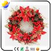 De de populaire Decoratie van Kerstmis en Kroon van Kerstmis