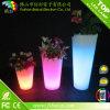 Vases colorés par plastique rougeoyants portatifs lumineux à vente chaude