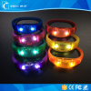 2017 Hot Sell LED Flashing Custom Party Logo LED Bracelet