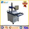 중국 20W 가죽을%s 탁상용 CNC 섬유 Laser 표하기 기계