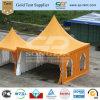 tenda foranea quadrata arancione fantastica del Pagoda di 5X5m per gli eventi esterni