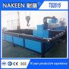 Maquinaria plateada de metal del corte del plasma del CNC