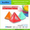 Neuer Dreieck Bluetooth Lautsprecher mit FM Radio für iPhone5S/Samsung S4