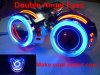 Il doppio angelo Eyes la luce del proiettore del Bi-Xeno per il motociclo