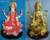 Polyresinのヒンズー教の神の彫像、インドの神、Polyresinのインド人の女神