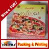 Rectángulo impreso aduana de la pizza de la buena calidad (1319)
