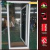 UPVC에 의하여 박판으로 만들어지는 태풍 충격 유리제 여닫이 창 문