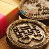 個人化された結婚の茶硬貨の好意