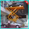 O automóvel Scissor o auto elevador da garagem