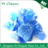 Azul de oceano que ajardina blocos de vidro decorativos