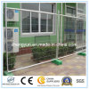 Clôture temporaire galvanisée portable pour chantier de construction