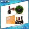 RFID UHF Frágil Etiqueta de papel fácil para la botella de vino de Alien H3 ISO18000-6C