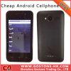 Teléfono móvil elegante capacitivo SIM del androide 4.0 de E7 Mtk6515 de la tarjeta dual 3.5 de WiFi Bluetooth ''