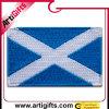Corrección promocional del bordado de la ropa con la insignia de Escocia