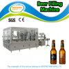 Máquina de enchimento automática cheia da cerveja do frasco de vidro