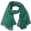 Sciarpa di seta della signora Fashion Polyester Voile Spring (YKY4213)