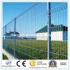 Le PVC d'usine a enduit la frontière de sécurité soudée galvanisée de treillis métallique