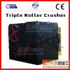 China-Zerkleinerungsmaschine-Dreiergruppen-Rollenzerkleinerungsmaschine für die Zerquetschung der Stein-Erze und der harten Materialien