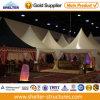 작은 5X5m Aluminum PVC White 정원 Event Outdoor Party Marquee Decorated Wedding Gazebos Tents