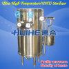Esterilizador de Uht de la leche de la calefacción de vapor del acero inoxidable