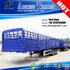 Remorque de mur latéral de conteneur de lit plat du Tri-Essieu 40FT à vendre