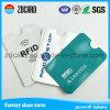 Schutz-Karte innerhalb der Sicherheits-Kartenhalter-Hülse
