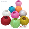 Round brillante Paper Lanterns per Party Decoration