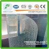 verre trempé de 2-19mm/glace de porte en verre Tempered